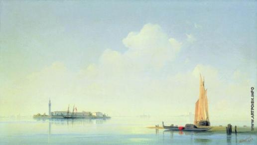 Айвазовский И. К. Венецианская лагуна. Вид на остров Сан-Джорджо