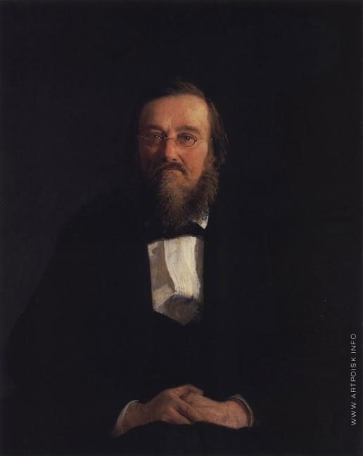 Ге Н. Н. Портрет историка Н.И. Костомарова