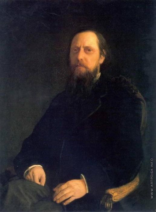 Ге Н. Н. Портрет писателя Е.Салтыкова-Щедрина