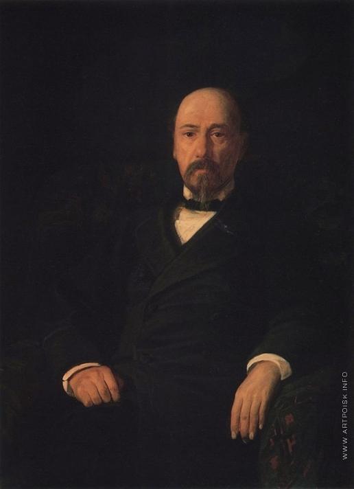 Ге Н. Н. Портрет поэта Н.А. Некрасова