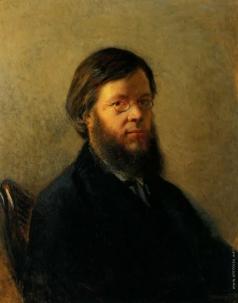 Ге Н. Н. Портрет писателя А.Н. Пыпина