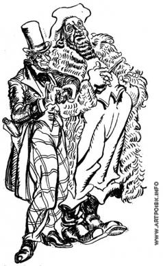 """Бехтеев В. Г. Иллюстрация к книге """"Хижины дяди Тома"""" Гарриет Бичер-Стоу"""