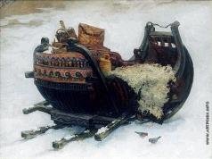 Киселев К. В. Сани