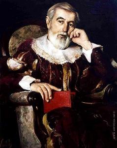 Киселев К. В. Портрет Захария Аваковича Хачатряна в историческом костюме