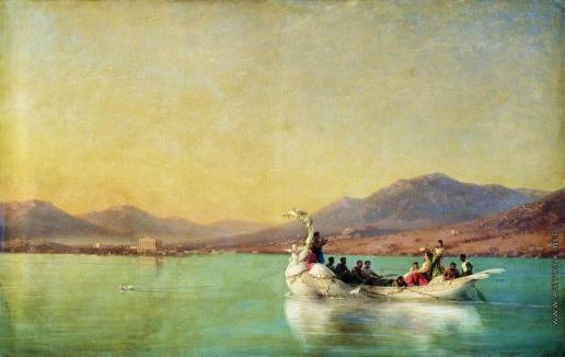 Айвазовский И. К. Венчание поэта в Древней Греции