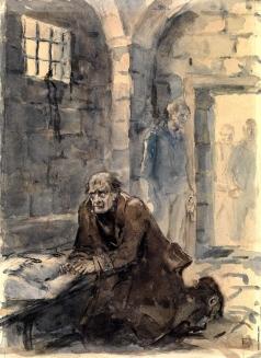 Бехтеев В. Г. Иллюстрация к новеллам Оноре де Бальзака