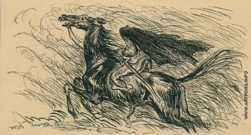 Бехтеев В. Г. Иллюстрация к «Рассказам и легендам» В.Ирвинга