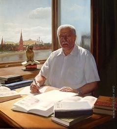 Киселев К. В. Портрет писателя И.И. Легана автора книги «КГБ ФСБ. Взгляд изнутри»