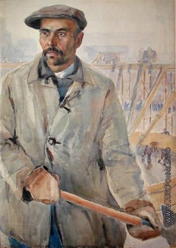 Лехт Ф. К. Миреанд Ардуанов, организатор ударной бригады Химстроя