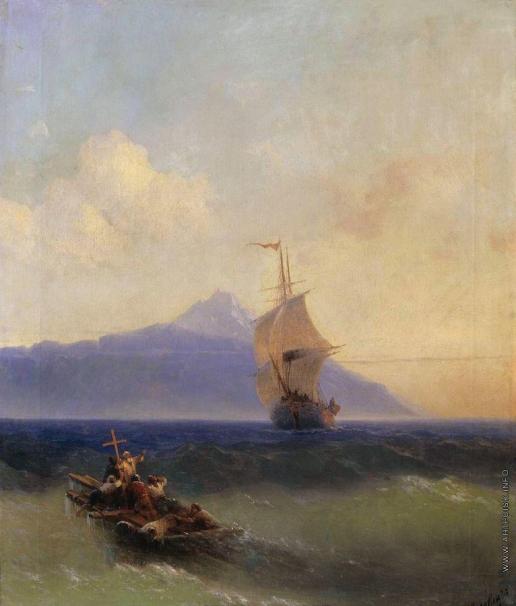Айвазовский И. К. Вечер на море