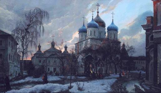 Киселев К. В. Новоспасский монастырь