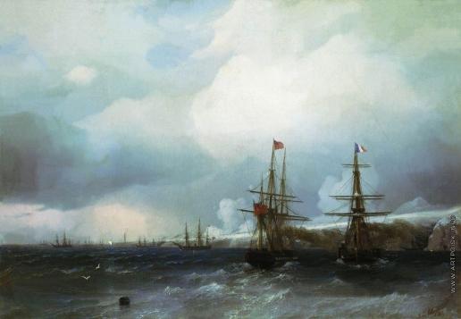 Айвазовский И. К. Взятие Севастополя