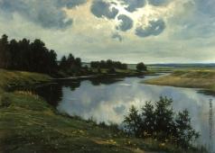 Козорезенко П. П. Тихая река. Утро