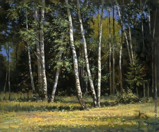 Козорезенко П. П. Берёзовый лес