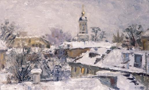Козорезенко П. П. Зимний пейзаж