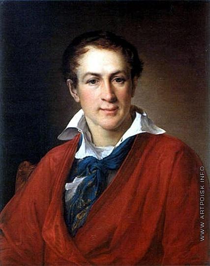 Тропинин В. А. Портрет Федора Петровича Крашенинникова