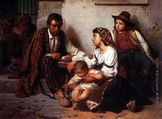Верещагин В. П. Свидание узника с семейством