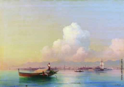 Айвазовский И. К. Вид Венеции со стороны Лидо