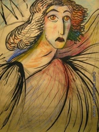 Веревкина М. В. Автопортрет в образе ангела