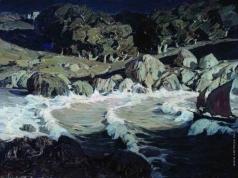 Богаевский К. Ф. Ночь у моря
