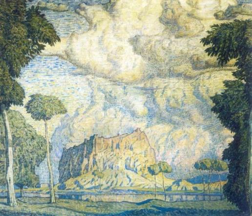 Богаевский К. Ф. Тропический пейзаж