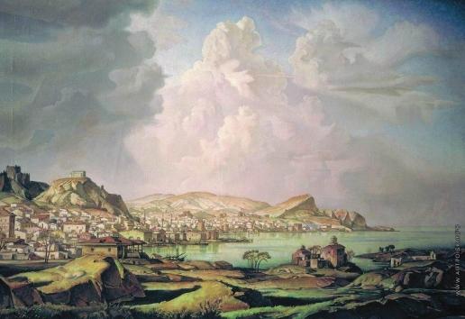 Богаевский К. Ф. Каффа (Старая Феодосия)