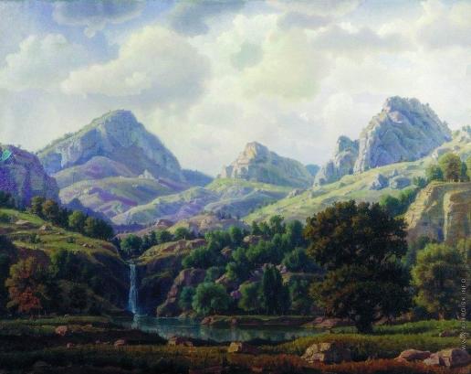 Богаевский К. Ф. Горный пейзаж