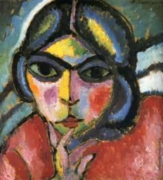 Явленский А. Г. Женский портрет