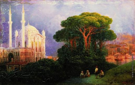 Айвазовский И. К. Вид Константинополя