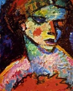 Явленский А. Г. Портрет женщины