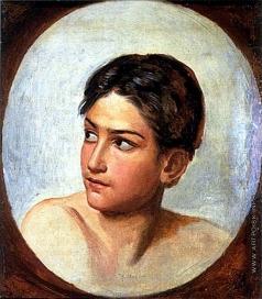 Иванов А. А. Голова дрожащего мальчика