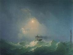Дорогов А. М. Корабль в бурю