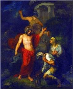 Кипренский О. А. Юпитер и Меркурий, посещающие в виде странников Филимона и Бавкиду