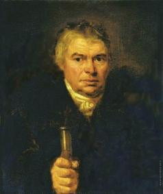 Кипренский О. А. Портрет отца художника Адама Карловича Швальбе