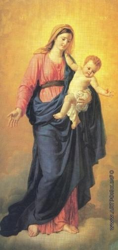 Кипренский О. А. Богоматерь с младенцем