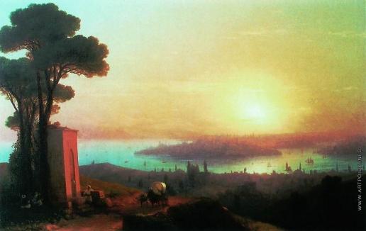 Айвазовский И. К. Вид Константинополя с Чамлича