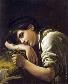 Кипренский О. А. Молодой садовник