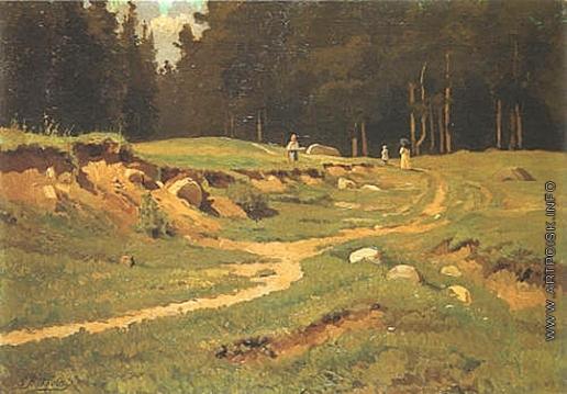 Волков Е. Е. Летний пейзаж