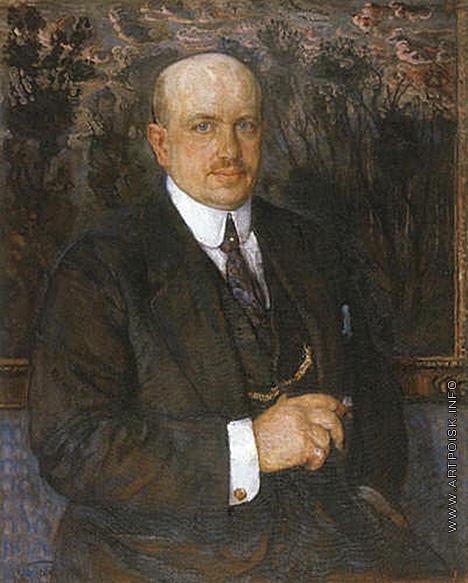 Бродский И. И. Мужской портрет