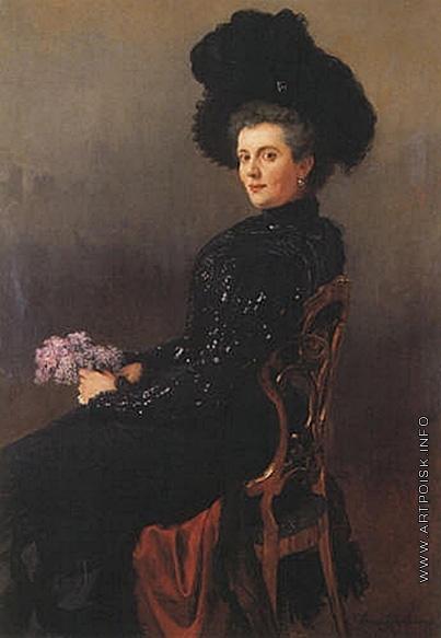 Богданов-Бельский Н. П. Портрет дамы в кресле