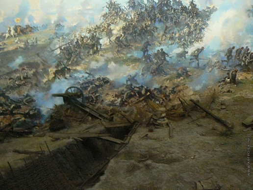 """Щербаков В. Н. диорама""""Плевенская эпопея 1877 года"""""""