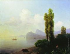 Айвазовский И. К. Вид Судакской бухты