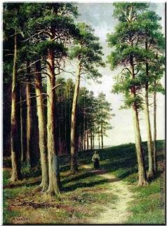 Клодт М. К. Сосновый лес