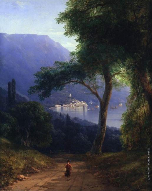 Айвазовский И. К. Вид из Ливадии