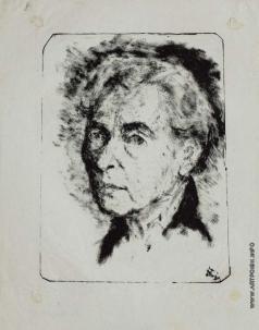 Бубнова В. Д. Автопортрет