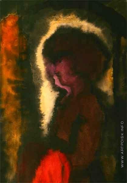 Бубнова В. Д. Женщина с красным платком