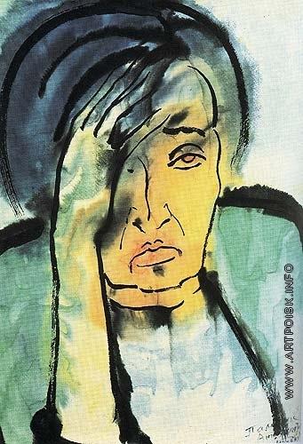 Бубнова В. Д. Женский портрет