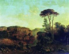 Клодт М. К. Вид на острове Валааме