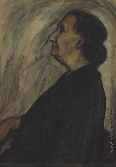 Бубнова В. Д. Пожилая женщина