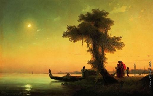 Айвазовский И. К. Вид на венецианскую лагуну
